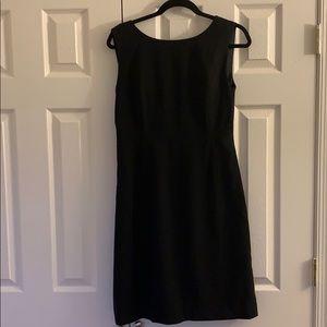 T Tahari Black Shift dress